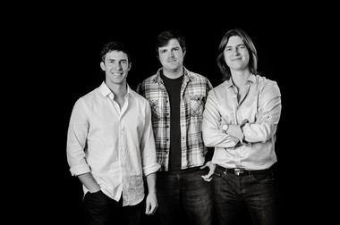 """Roman Street is celebrating the release of """"Caravan,"""" its first full album of original material since 2010. (That's not counting """"Christmas Rhumba,"""" released in the interim.) From left: Josh Thompson, Daniel Brett and Noah Thompson. (Courtesy of Roman Street.)"""