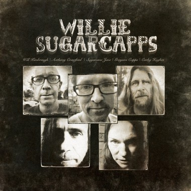 Willie Sugarcapps brings together a number of coastal Alabama performers known for their individual talents. Album cover photography by Chad Edwards.