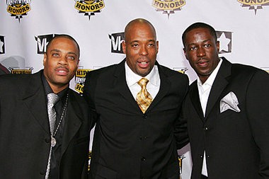 """Whodini is pictured at the 2007 """"VH1 Hip Hop Honors"""" taping. (Contributed photo)"""