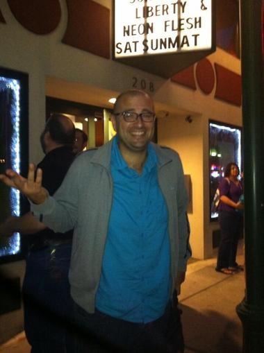 """Tokarev"" director Paco Cabezas at The Crescent Theater on Friday, July , 2013. (Tamara Ikenberg/tikenberg@al.com)"