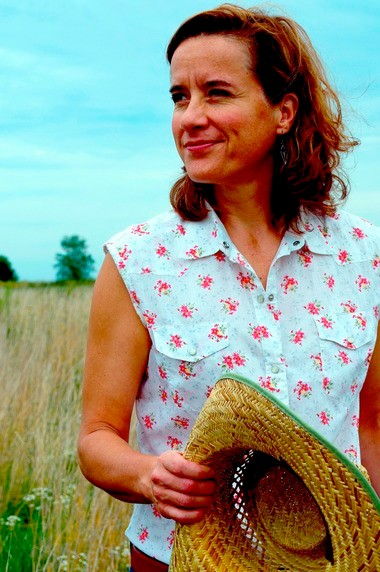 """There's a romance about farming,"" Susan Werner says. ""You ask people, 'Ever been to a farm?' Everyone says yes, and has something positive to say about it. ... There's a love song to be written about all aspects of agriculture. There's a feeling of really intense attachment that people have for a place."""