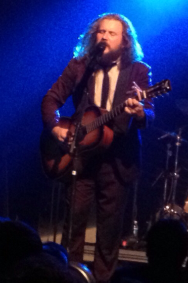 Jim James began the encore with a pair of solo acoustic numbers.