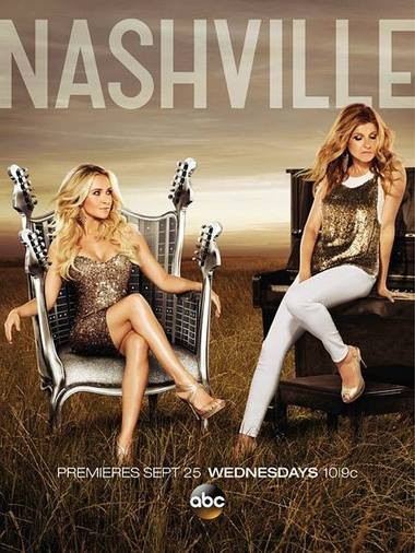 """Juliette Barnes (Hayden Panettiere, left) and Rayna James (Connie Britton) are frenemies on ABC's """"Nashville."""""""
