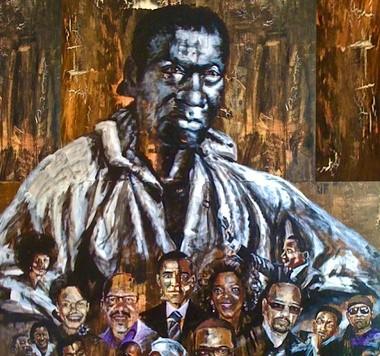 "John Solomon Sandridge, ""Out of Slavery"""