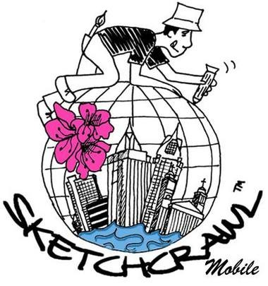 Draw inspiration from the exhibits at History Museum of Mobile at the SketchCrawl. (MAC)
