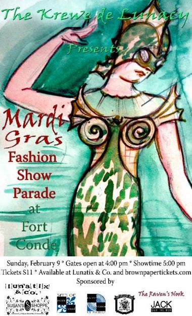 See the fashion parade at Fort Conde. (History Museum of Mobile)