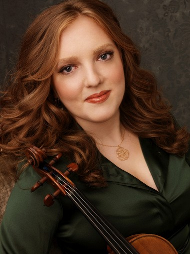 Violinist Rachel Barton Pine was the soloist for the premiere of Mohammed Fairouz's Violin Concerto (Al-Andalus) on March 8, 2014