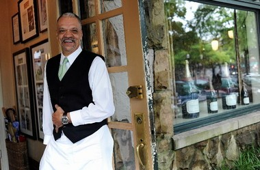Goren Avery, who has been a server at Highlands Bar and Grill since it opened in 1982, took his first airplane ride to attend the 2012 James Beard Foundation Awards in New York City. (Tamika Moore/tmoore@al.com)