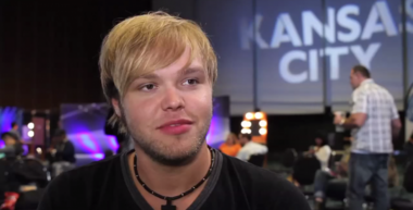 """Casey Thrasher auditioned in Kansas City, Mo., for Season 14 of """"American Idol."""" (Screen capture, """"American Idol"""" video)"""