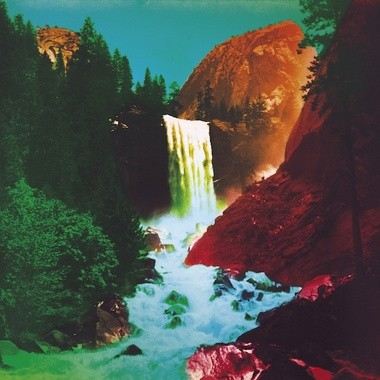 """Cover art for My Morning Jacket's """"The Waterfall."""""""