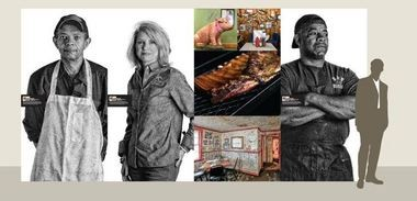 """""""The Masters of Alabama Barbecue"""" photo exhibit will debut May 14-16, 2015, at the Memphis in May World Championship Barbecue Cooking Contest in Memphis, Tenn. (Image courtesy of Alabama Tourism Department)"""