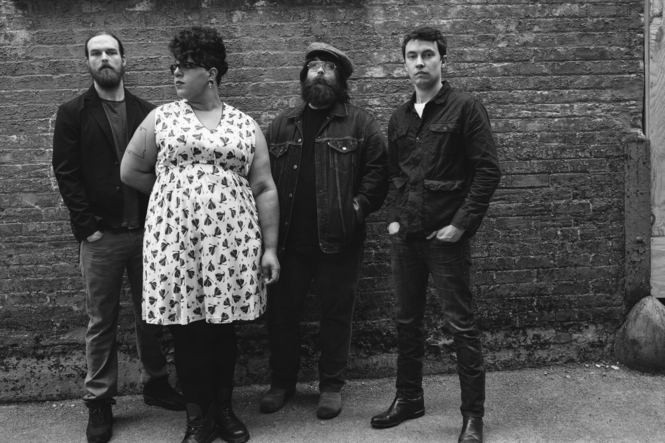 Alabama Shakes, from left: Steve Johnson, Brittany Howard, Zac Cockrell and Heath Fogg. (Courtesy David McClister)