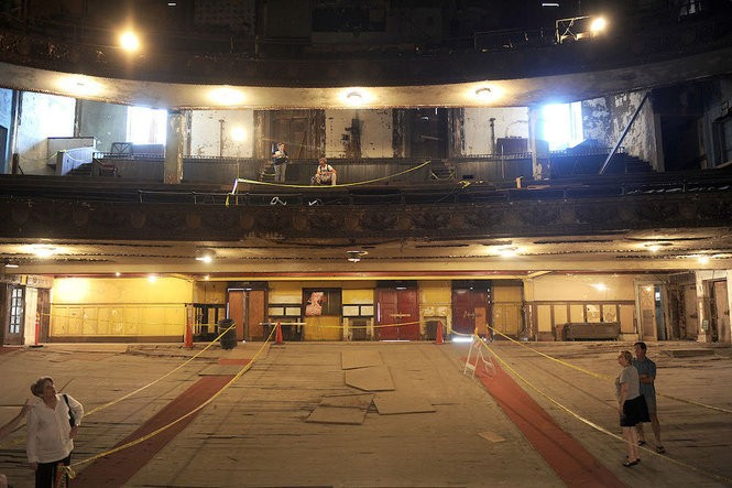 Visitors toured the Lyric Theatre in 2011 during the Sidewalk Film Festival in Birmingham. (The Birmingham News file/Michelle Campbell)