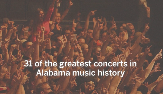 31 of the greatest concerts in Alabama music history - al com