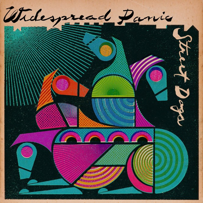 "Cover art for Widespread Panic's 2015 album ""Street Dogs."" (Courtesy All Eyes Media)"