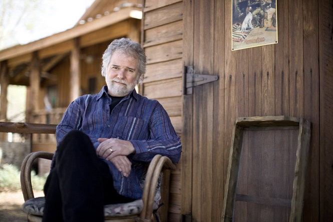 Chuck Leavell on his tree farm in South Georgia, circa 2014. (Courtesy Fernando Decillis)