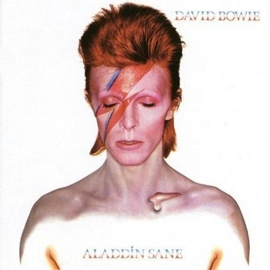 """David Bowie's sixth album """"Aladdin Sane,"""" was released by RCA Records in 1973. (RCA Records)"""