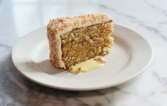 The coconut-pecan cake is by far the most popular of Dolester Miles' desserts. (Tamika Moore/tmoore@al.com)