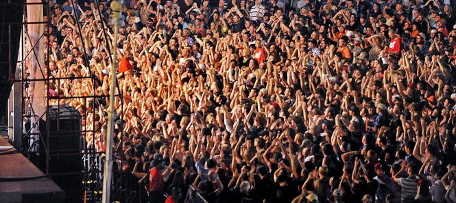 A crowd at Big Spring Jam. (File photo)