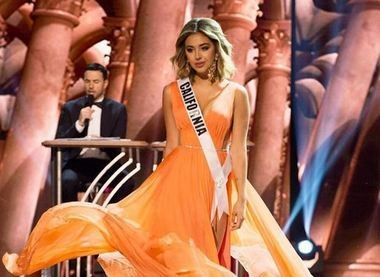 """Miss California USA Nadia Mejia is the daughter of 1990s rap star Gerardo, best known for his song """"Rico Suave."""""""