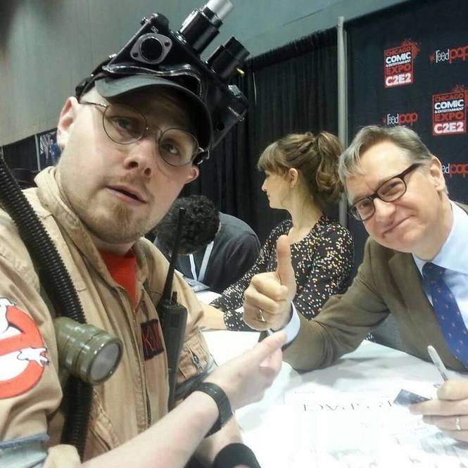 Ryan E. Kemp meets Ghostbusters reboot director Paul Feig.