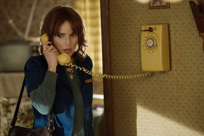 "Winona Ryder in ""Stranger Things."" (Curtis Baker/Netflix/courtesy Everett Collection)"