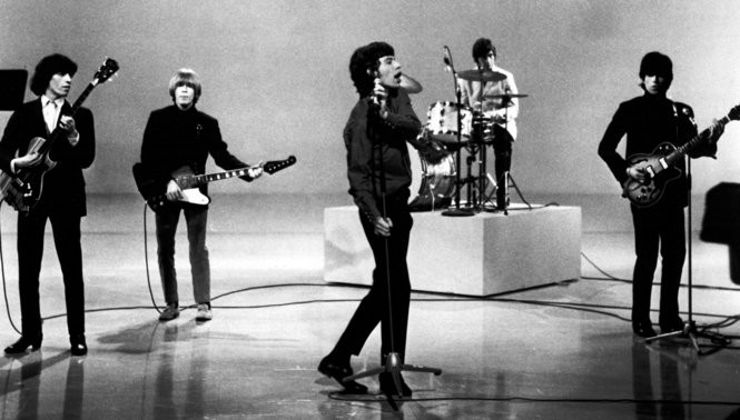 Rolling Stones perform during the mid-60s. (Courtesy Everett Collection)