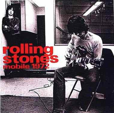 Cover art for a bootleg live album from the 1972 Rolling Stones concert in Mobile.
