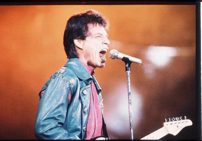 Mick Jagger and the Rolling Stones played Legion Field in 1989. (File/Bernard Troncale/The Birmingham News)