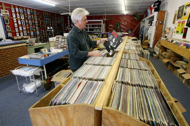 Mobile Records owner Keith Glass. (File photo)