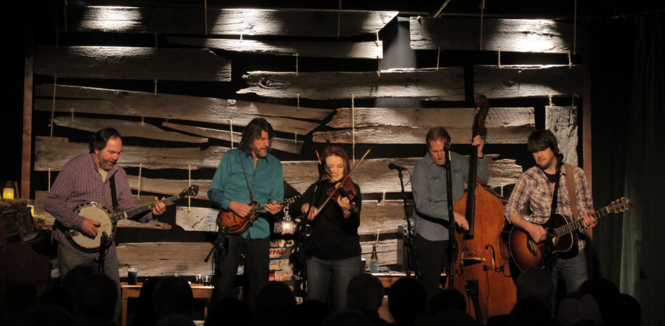 SteelDrivers perform at Tangled String Studios. (Courtesy photo)