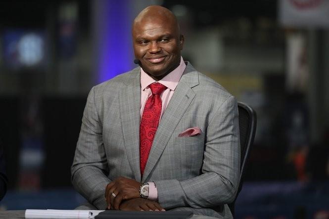 SEC Network/ESPN college football analyst Booger McFarland. (Courtesy Allen Kee/ESPN Images)