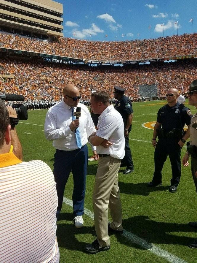SEC Network/ESPN college football analyst Cole Cubelic. (Courtesy photo)