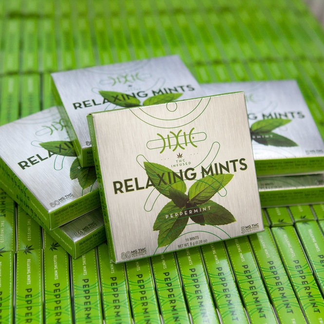 Dixie Brands offers a line of THC-infused mints. (Courtesy Dixie Brands)