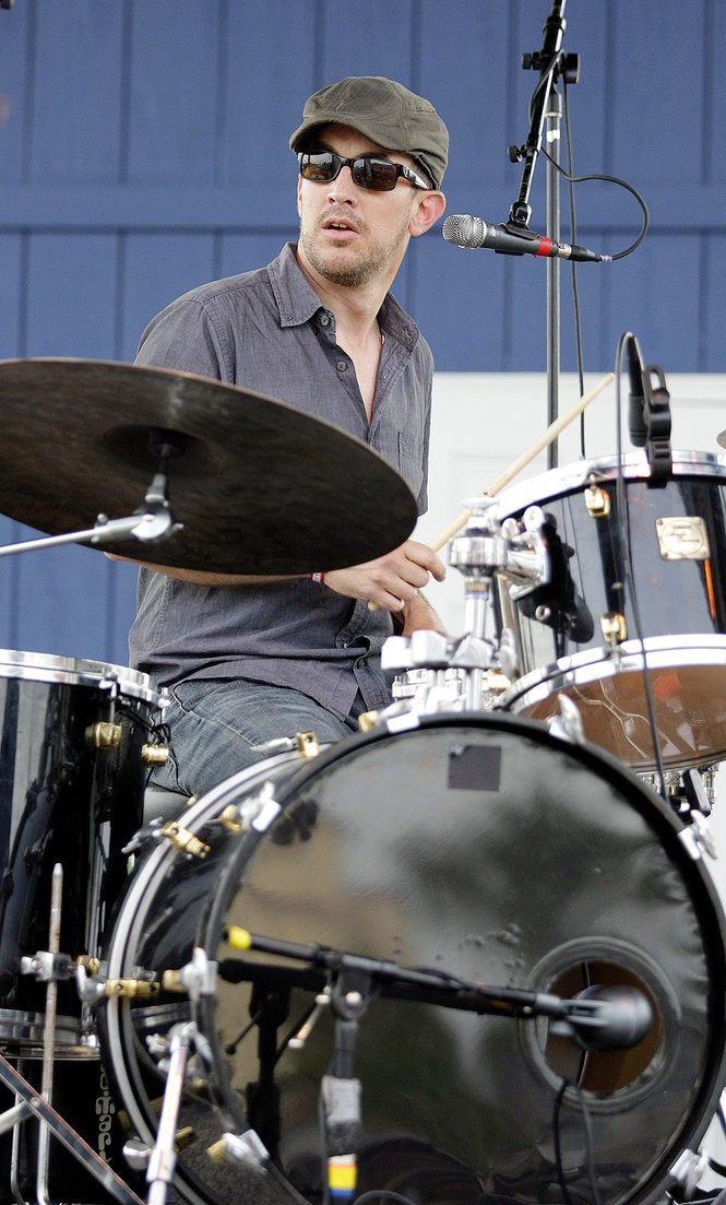 Jason Isbell and the 400 Unit drummer Chad Gamble. (File photo)