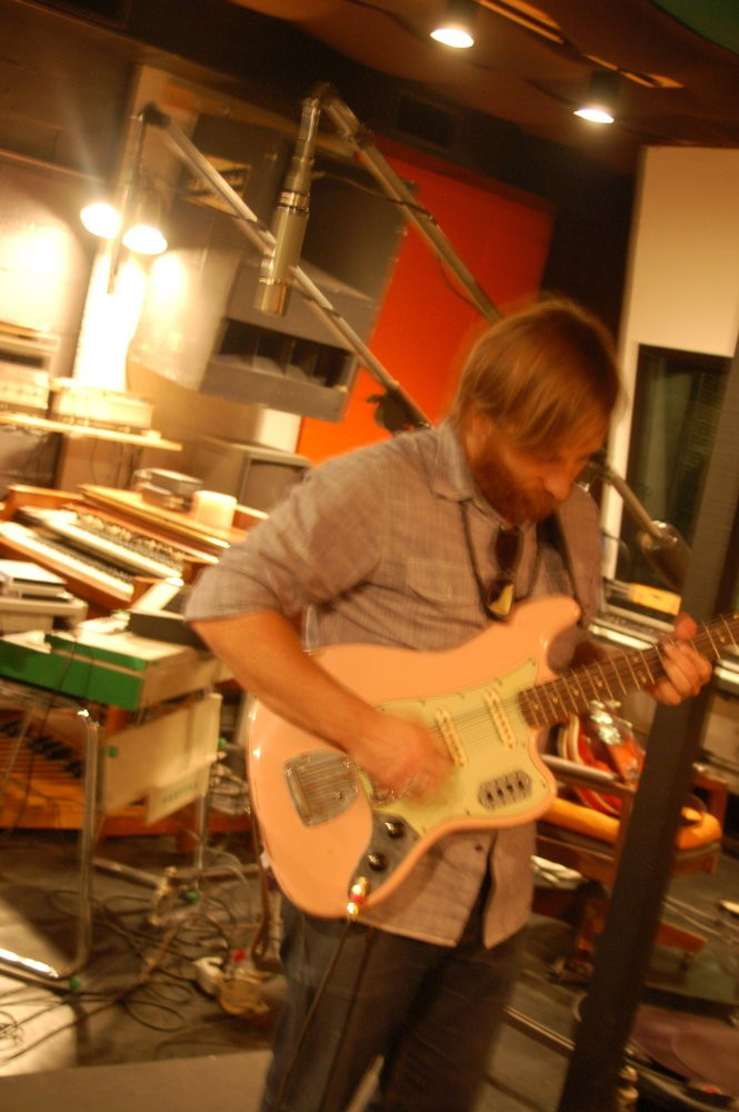 The Black Keys singer Dan Auerbach at Muscle Shoals Sound. (Courtesy photo)