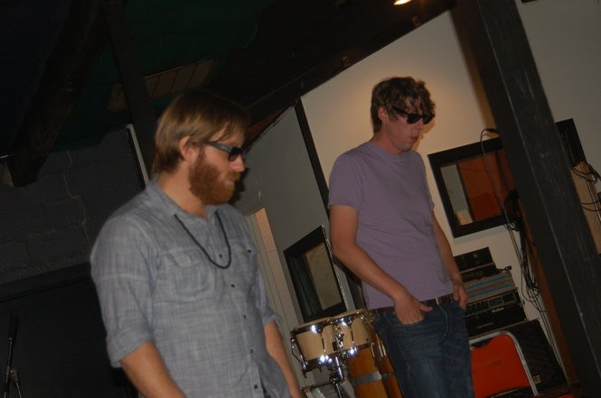 The Black Keys at Muscle Shoals Sound. (Courtesy photo)