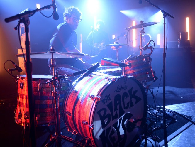 Drummer Patrick Carney of The Black Keys performs on June 9, 2015 in New York City. (Photo by Stephen Lovekin/Getty Images for iHeart Radio)