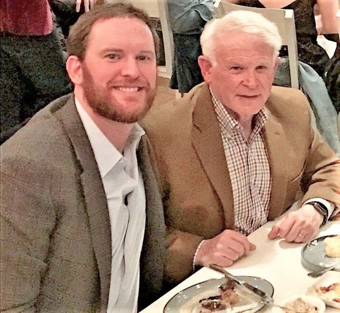 Donnie Russell, right, says he couldn't believe it when his son, Mac Russell, told him he wanted to be a chef. Now he's glad his Mac didn't listen to him. (Photo courtesy of Cherry Russell)