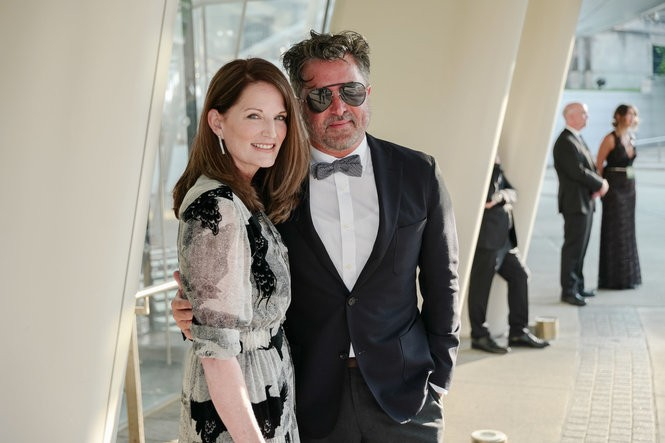 Billy Reid and wife Jeanne Reid at the 2018 CFDA Fashion Awards. (Courtesy David X Prutting/BFA.com)