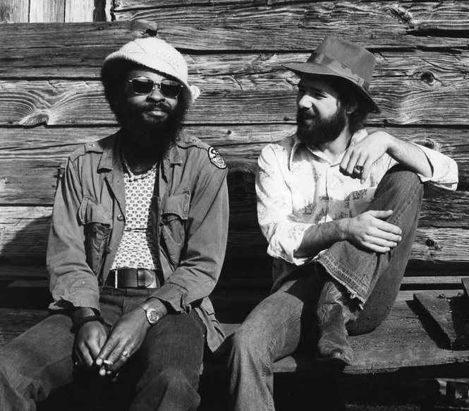 The Allman Brothers Band's, left, Lamar Williams and Chuck Leavell. (Courtesy Chuck Leavell)
