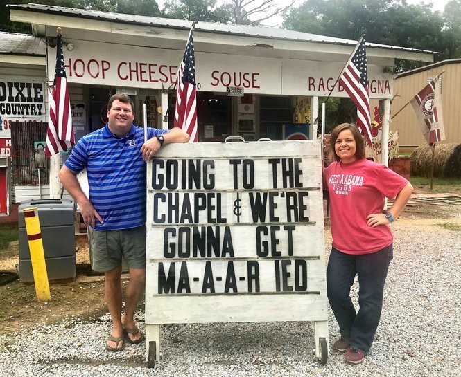 Five years after they reopened Jefferson Country Store, Tony Luker and Betsy Compton are going to get married on Nov. 17, 2018. (Bob Carlton/bcarlton@al.com)