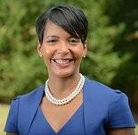 September 8, 2013. Atlanta, GA City Councilwoman Keisha Lance Bottoms She's now Mayor of Atlanta. Photograph by Michael A. Schwarz.