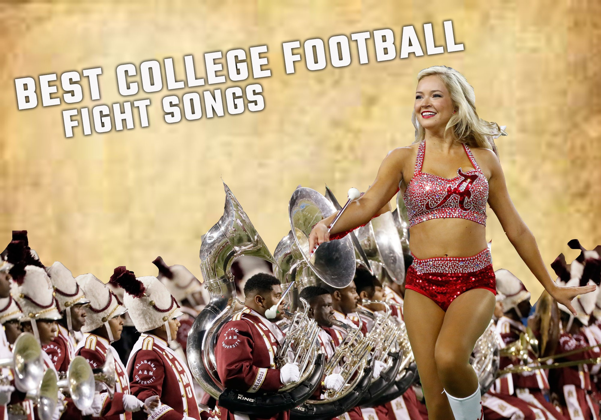 The greatest college football fight songs ranked - al com