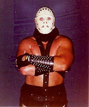 The Lord Humongous character, from this undated picture, has been grappling in Southeast wrestling promotions for years. The character headlines a benefit show for the Mobile Arc program on Friday, July 15, 2016, in Mobile, Ala.