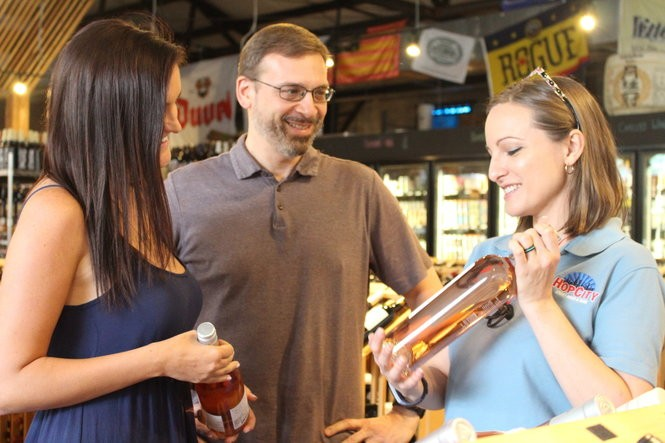 Angela Richter, social and events manager for Hop City Craft Wine and Beer (Credit: Shauna Stuart for Al.com)