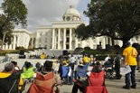 The Affordable Care Act had passions high in 2013 when supporters turned out for an NAACP-sponsored rally at the Alabama State Capitol. (File photo)