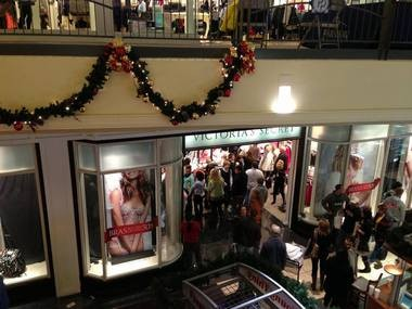 Hundreds of shoppers came out in droves Thanksgiving night to snag discounted merchandise at Parkway Place Mall in Huntsville. (Contributed by Parkway Place Mall)