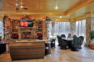 Outdoor living spaces are popular features with homebuyers. (Bob Gathany/bgathany@al.com)