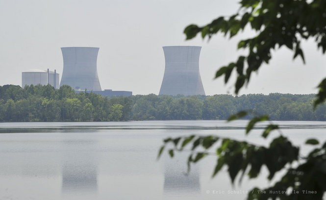 Tennessee Valley Authority's Bellefonte Nuclear Plant site Thursday, June 2, 2011 in Hollywood, Ala. (The Huntsville Times/Eric Schultz)